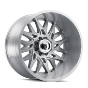 American Truxx Dna At184 24x14 -76 Brushed Texture Wheel 5x127 5x5 Qty 4