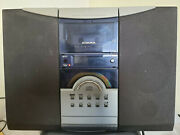 Audiovox 1990s Portable Cd System Radio And Cassette Player Stereo Ce-500s 1.a4