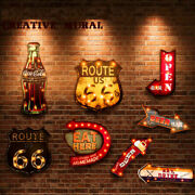20 Styles Vintage Led Light Neon Signs Decorative Painting For Pub Bar Restauran
