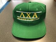 Vintage University Of Tennessee The Game Glued Tag Lambda Chi Alpha Snapback Hat