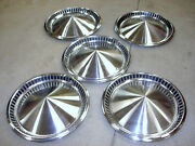 5 - 1957 Plymouth Belvedere Fury 14 Dog Dish Wheel Cover Hubcaps 1730797