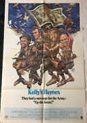 Kellys Heroes And03970 Eastwood Spirit Of And03976 Style Original U.s. Os Film Poster