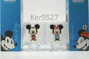 2021 Niue Chibi Mickey Mouse And Minnie Mouse Disney Ultimate Couple Coins Set