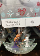 Disney Parks Fairy Tale Moments Frozen 2 Anna And Olaf Sketchbook Ornament