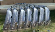Nike Vr-s Forged Iron Set - 4-pw Rh Right Handed Steel Kbs Tour By Fst Shafts