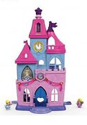Fisher-price Little People Disney Princess Magical Wand Palace - New In Boxes.