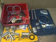 Harley Davidson Miscellaneous Parts Lot 12 Chrome And Other Small Parts