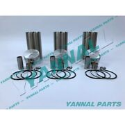 New Std Yanmar 3tne68 Cylinder Liner Kit With Piston Rings