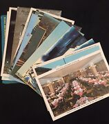 Vintage Chicago Illinois Postcard Lot Of 15 Buildings Hotels Soldier Field