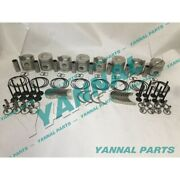 New Rd8 Rebuild Kit With Piston Ring Engine Bearing Valve For Nissan