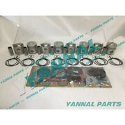New Rd8 Repair Kit With Full Gasket Set Piston Rings For Nissan