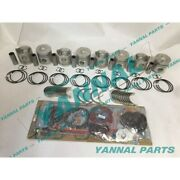 New Rd8 Repair Kit With Cylinder Gasket Piston Ring Bearing For Nissan