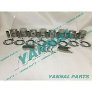 New Rd8 Repair Kit With Main Rod Bearing Piston Rings For Nissan