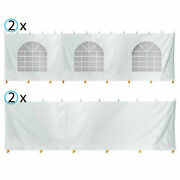 8fth 30x30 Tent Sidewall Kit Solid And Cathedral Window Blockout 16oz Vinyl Panel