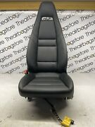 Porsche 970 Panamera Seat Fairing Electric Leather Black Passenger With Airbag