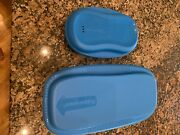Set Of Two Tupperware Microwave Bowls Breakfast And Pasta Spaghetti Maker
