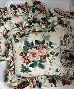 Waverly Floral Grapes Throw Pillow Pleasant Valley 17andrdquo Set Of 3