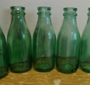 Lot 3 Old Mini Bottles Milk From Argentina Years 60 S
