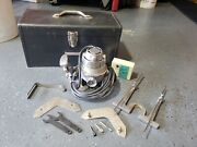 Vintage And Tested Craftsman 315.25031 1hp 1/4 Router W/ Accessories And Tool Box