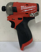 Milwaukee 2551-20 M12 Fuel Surge 1/4 Inch Hex Hydraulic Driver Bare Tool