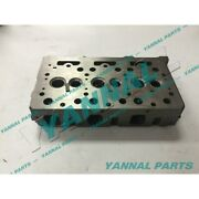 New China 3 Cylinders Diesel Engine Part D1302 Cylinder Head For Kubota Engine