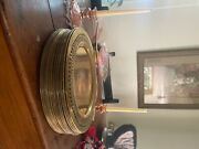 Rare Brass Antique Made In India 1930 Collectibles. Charger Platesandnbsp
