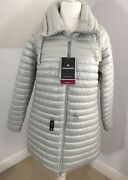 Craghoppers Womens Uk 18 Mull Aquadry Lightweight Insulated Jacket Dove Grey New