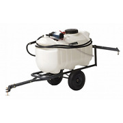 Tow Behind Sprayer In Lawn And Garden 25 Gallon Pull Mower Tractor 1.8 Gpm 60psi