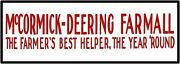 Mccormick Deering Farmall Tractors Sign 12 X 36 Usa Steel Xl Size - 4 Pounds