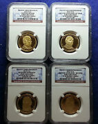 2012 S Ngc Pf69 Early Releases Presidential Dollar Four Coin Set