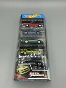 Hot Wheels 2021 Fast And Furious 5 Pack - Custom Lodc Wheels And Paint Touch Ups