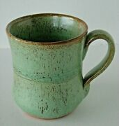 Owens Pottery Seagrove 7 Arts And Craft Matte Green 6 Nancy Owens 1 Owens Signed