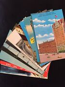Vintage Chicago Illinois Postcard Lot Of 14 Wrigley Hotels Henrici's Lincoln