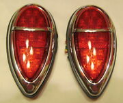 1938-1939 Ford Vintage Style Led And039signature Seriesand039 Tail Lights Cool Custom