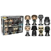 Star Wars Rogue One Funko Pop 8 Pack Disney Store Limited Andeacutedition 9 Cm Figurine