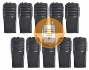 10x Oem Housing For Motorola Cp200d Radio W/ Buttons Channel Ptt Button Stickers