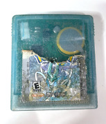 Authentic Pokemon Crystal Version Gameboy Color ++ New Save Battery Tested