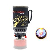 Outdoor 1400ml Camping Gas Stove Fires Cooking System And Portable Gas Burners