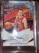 Duncan Robinson Court Kings Brush Strokes Auto 99/99 Last One Made Mint. 1 Touch
