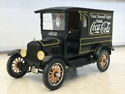 Franklin/danbury Mint 124 1925 Ford Cocacola Delivery Truck Classic Model 118