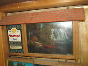 Vtg Hamms Beer Sceneorama Lighted Motion Sign Works Well Pick Up Only