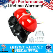 2pack Train Horn 12v Super Loud Electric Snail Air Horn For Motorcycle Car Truck
