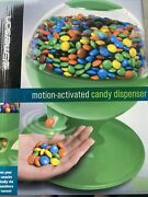 Emerson Motion Activated Gumball Candy Treats Dispenser Machine Touchless Green
