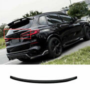 For Bmw X5 G05 2019-2021 Dry Carbon Fiber Rear Middle Trunk Spoiler Wing Flap