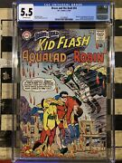 Brave And The Bold 54 Cgc 5.5 1st App And Origin Of The Teen Titans Dc 1964