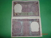 India Paper Money- Old Currency Note- Rupee 1/-1972 -rare-i.g.patel-e- A-279