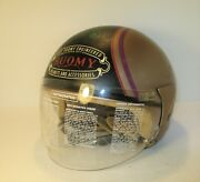 Rare Suomy Store Promotional Display Motorcycle Helmet With Visor