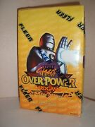 Fleer Clasic Marvel Overpower Expansion Set Ccg Factory Sealed Box Very Rare