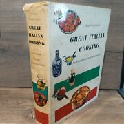 Luigi Carnacinaand039s Great Italian Cooking Hardcover 851 Pages Vintage Acceptable