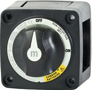 Blue Sea - Battery Switch - Mini - Marine Rated - Ip66 - Dual Off/on+ - Pn. 6011